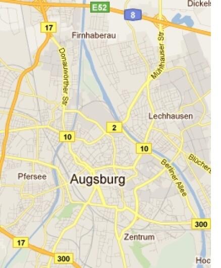 Unser Service für Sie die Fahrradwege rund um Augsburg und für ganz Deutschland