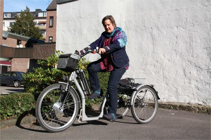 Therapiefahrräder und Spezial-Dreiräder von PFAU-TEC
