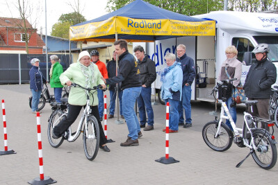 E-Bike-Kurs im Radland
