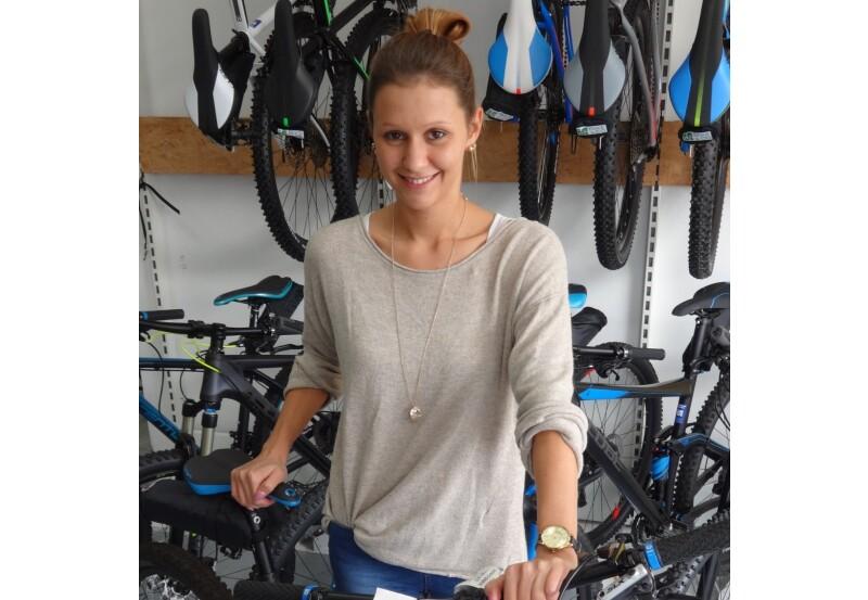 Dana Herrmann - Auszubildende zur Einzelhandelskauffrau