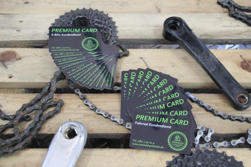 Zweirad Pritscher PREMIUM CARD
