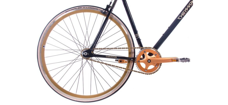 Chrisson FG-1.0 Flat schwarz gold