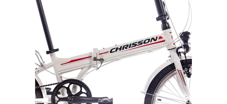 Chrisson Foldrider 1.0 weiß matt