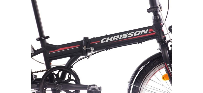 Chrisson Foldrider 2.0 schwarz matt