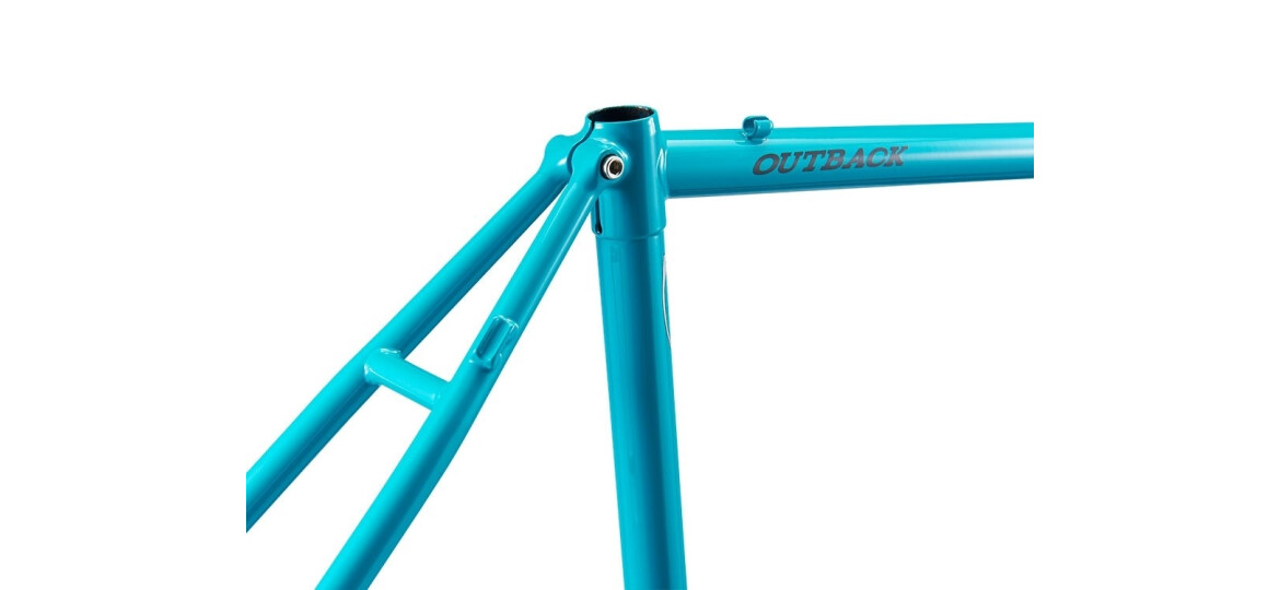 Ritchey OUTBACK DISC Gravel Cross Rahmenset 2018 Aquamarine