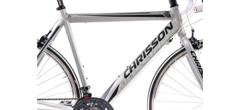 Chrisson FURIANER mit 14G SHIMANO A070 grau weiß matt
