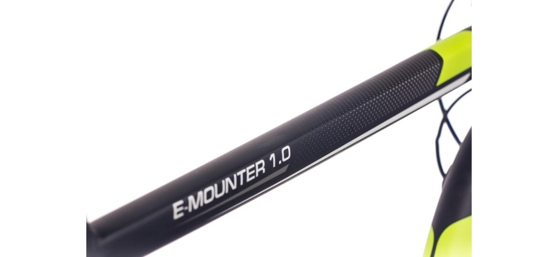 Chrisson 27,5 E-MOUNTER 1.0 schwarz matt
