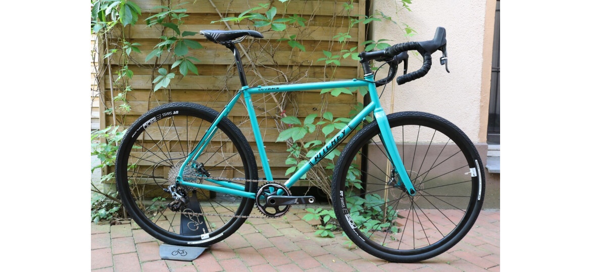 """Ritchey OUTBACK DISC GRAVEL CROSS RAHMENSET 2018 MIT SRAM """"FORCE 1"""" hydr. disc brake"""