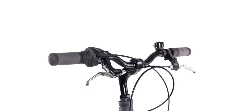 Chrisson City One Damenrad 7G Shimano Tourney schwarz matt