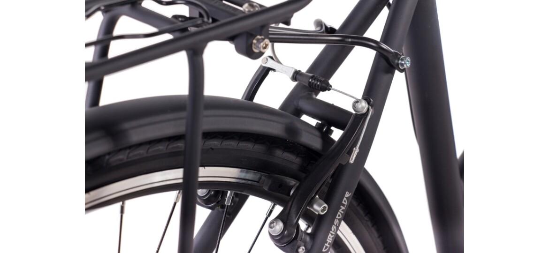 Chrisson City One Damenrad 3G Shimano Nexus schwarz matt