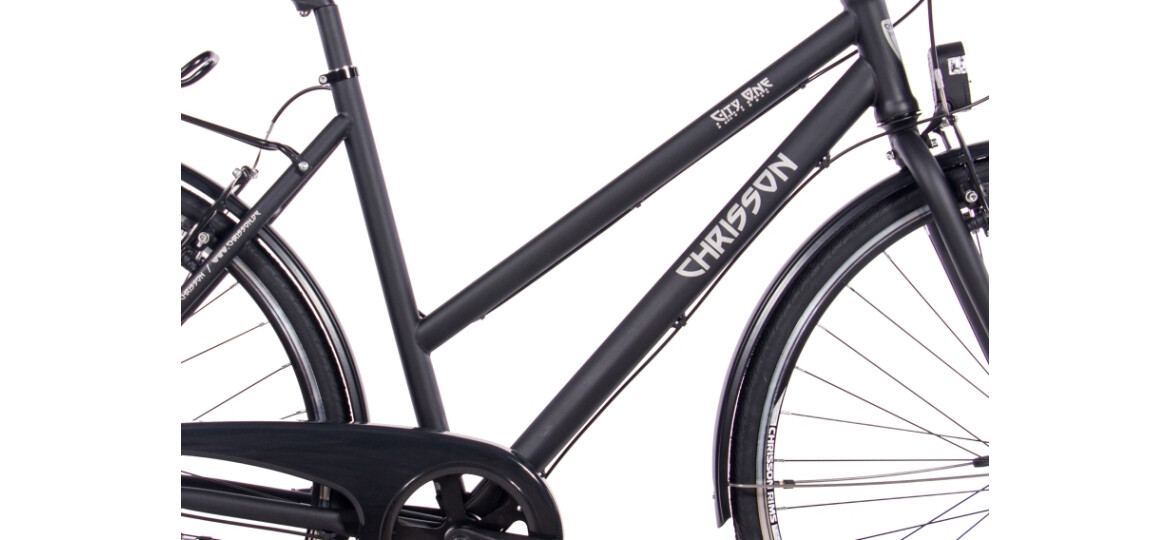 Chrisson City One Damenrad 7G Shimano Nexus schwarz matt