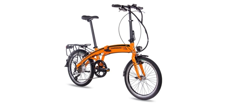 Chrisson EF1 8G ACERA & BAFANG GENERATION 2 8,7AH  orange