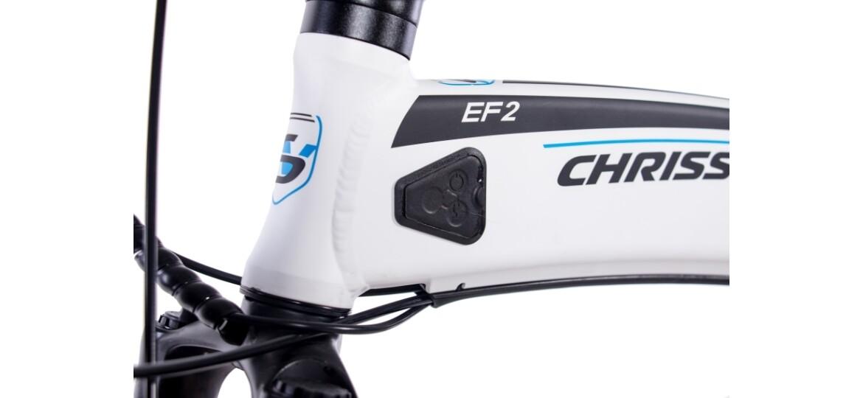 Chrisson EF2 9G SORA DISK & BAFANG  8,7AH weiß matt