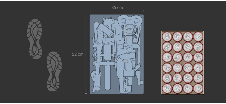 Tern BYB P8 Mod.20 silver blue Dynamo Beleuchtung