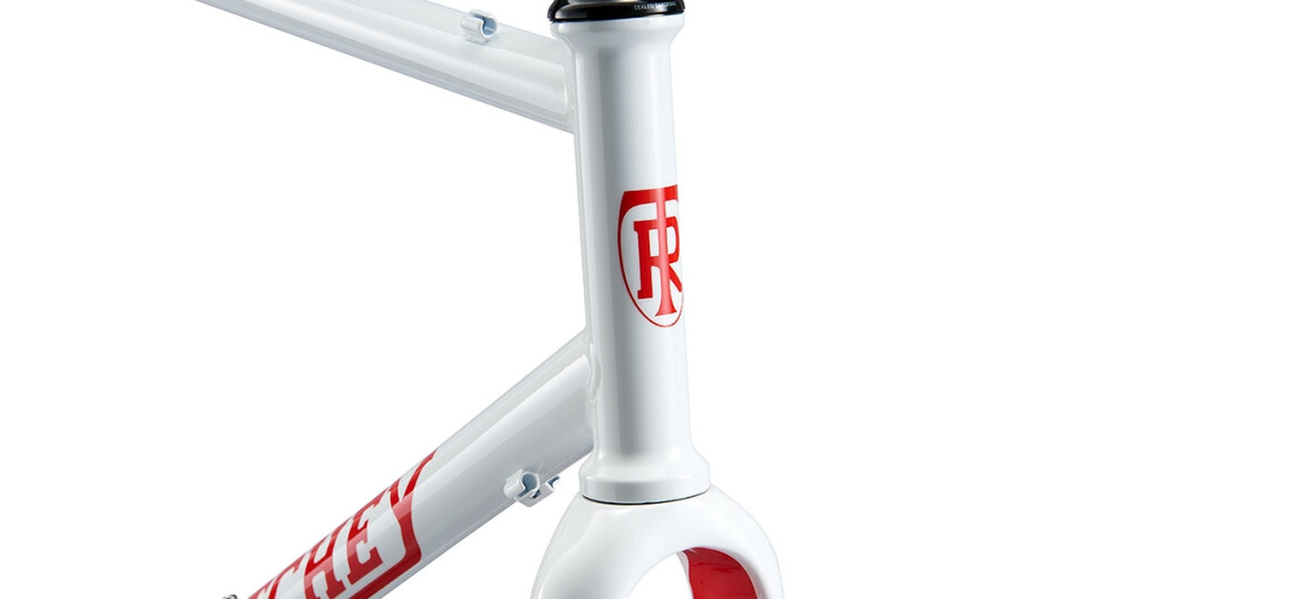 Ritchey Swiss Cross Disc V2 Frameset 2020 white/red Logo