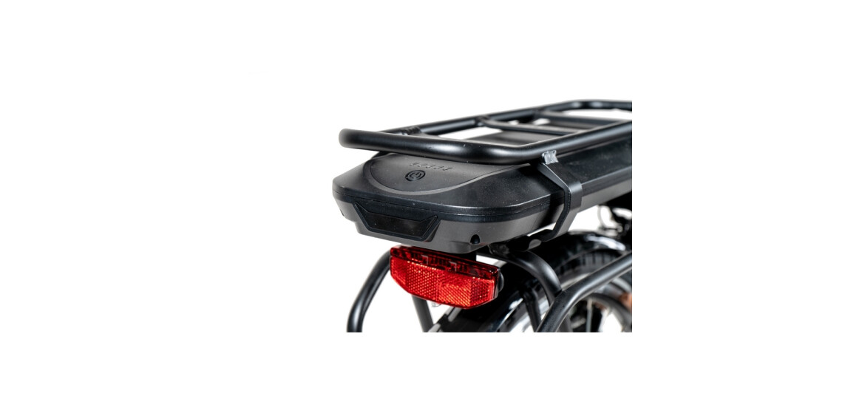 Chrisson E-GENT 7G Shimano Nexus ANANDA schwarz matt