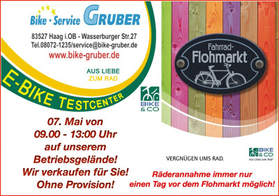 4. Radl - Flohmarkt !