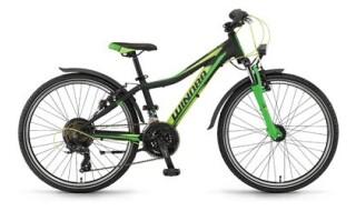 Winora rage 24 schwarz/lime/grün matt 2018 von Fahrrad Imle, 74321 Bietigheim-Bissingen