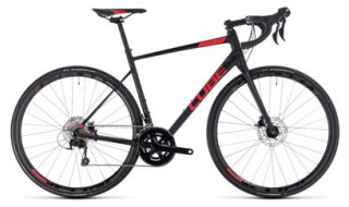 Cube Cube Attain SL Disc black´n´red 2018 von Radsport Doll, 76646 Bruchsal