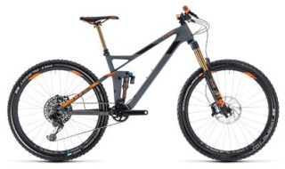 Cube Cube Stereo 140 HPC TM 27.5 grey´n´orange 20 Zoll 2018 von Radsport Doll, 76646 Bruchsal