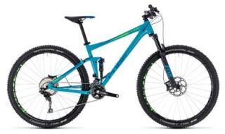 Cube Stereo 120 Race blue´n´green 27,5 von Fahrrad Imle, 74321 Bietigheim-Bissingen