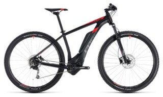 Cube Cube Reaction Hybrid ONE 400 black´n´red 2018 von Fahrradwelt Seng, 36100 Petersberg-Stöckels