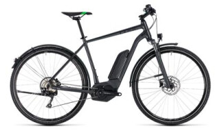 Cube Cross Hybrid Pro, grey´n flashgreen von Bike Service Gruber, 83527 Haag in OB