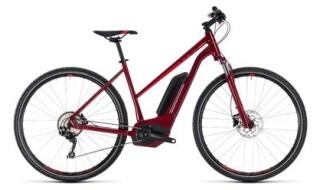 Cube Cube Cross Hybrid Pro 500 darkred´n´red 2018 trapez von bikeschmiede-Ahl, 63628 Bad Soden Salmünster