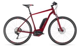 Cube Cross Hybrid Pro 500 darkred´n´red Herren von bikeschmiede-Ahl, 63628 Bad Soden Salmünster