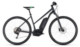Cube Cube Cross Hybrid Pro 500 grey´n´flashgreen 2018 Trapeze von Fahrradwelt Seng, 36100 Petersberg-Stöckels