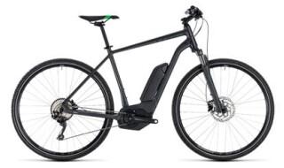 Cube Cube Cross Hybrid Pro 500 grey´n´flashgreen 2018 von Fahrradwelt Seng, 36100 Petersberg-Stöckels