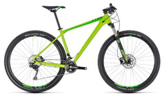 Cube Cube Reaction Pro green´n´black 2018 von bikeschmiede-Ahl, 63628 Bad Soden Salmünster