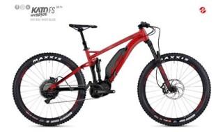 "Ghost Ghost Kato FS3 AL 27,5+"" Fully Farbe: Riot Red / Black Shimano E-8000 504 Wh von Fahrradwelt Seng, 36100 Petersberg-Stöckels"