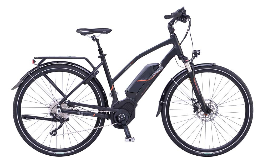 green 39 s richmond damen e bike mit bosch. Black Bedroom Furniture Sets. Home Design Ideas