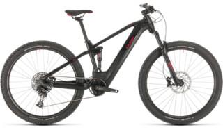 Cube Stereo Hybrid 120 Pro 625 black red von Rundum, der Fahrradladen, Matthias Ilg, 73433 Aalen - Wasseralfingen