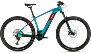 Cube Reaction Hybrid EXC 625, petrol´n red von Bike Service Gruber, 83527 Haag in OB