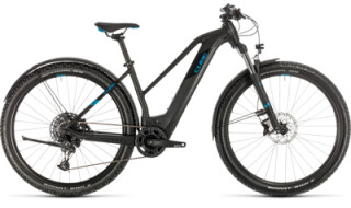 Cube Reaction Hybrid EX Allroad 29 625 black 'n' blue von Radsport Ilg OHG, 73479 Ellwangen