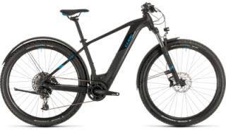 Cube Reaction Hybrid EX 625 Allroad, black´n´blue von Bike Service Gruber, 83527 Haag in OB