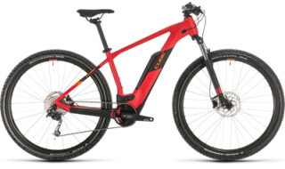 Cube Reaction Hybrid One 500, red´n´orange von Bike Service Gruber, 83527 Haag in OB