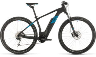 Cube Reaction Hybrid One 500, black´n´blue von Bike Service Gruber, 83527 Haag in OB