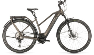Cube Kathmandu Hybrid SLT 625 teak 'n' silver von Radsport Ilg OHG, 73479 Ellwangen