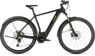 Cube Cross Hybrid Race Allroad 625 black 'n' green von Radsport Ilg OHG, 73479 Ellwangen