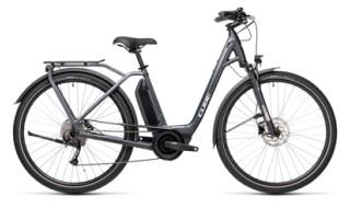 Cube Town Sport Hybrid ONE iridium´n´grey Easy Entry von bikeschmiede-Ahl, 63628 Bad Soden Salmünster