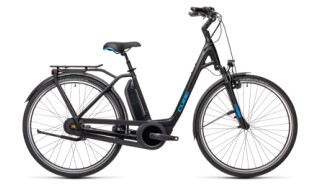 Cube Town RT Hybrid Pro 500 black´n´blue Easy Entry von Radsport Ilg OHG, 73479 Ellwangen