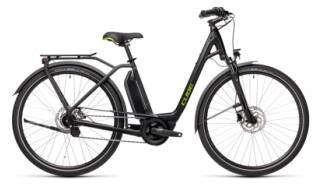 Cube Town Hybrid ONE black´n´green Easy Entry von bikeschmiede-Ahl, 63628 Bad Soden Salmünster