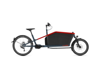 Cube Cargo Hybrid Sport Dual blue´n´red von Fahrradwelt Seng, 36100 Petersberg