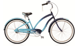 Electra Bicycle Night Owl 3i blue fade ladies von PLANET OF BIKES GmbH, 45127 Essen