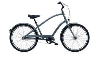 Electra Bicycle Townie Original 3i EQ satin graphite men von PLANET OF BIKES GmbH, 45127 Essen