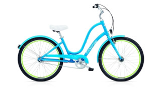 Electra Bicycle Townie Original 3i EQ caribbean blue ladies von PLANET OF BIKES GmbH, 45127 Essen
