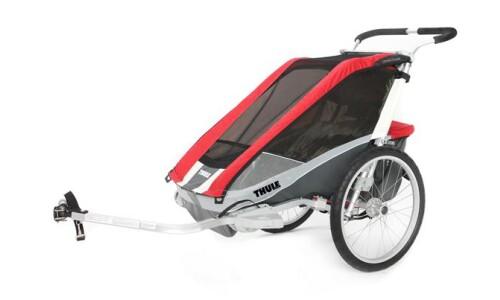 Thule Chariot Cougar 1 rot von MEGABIKE Manasse GmbH, 58640 Iserlohn